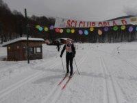 divertiti sugli sci da fondo