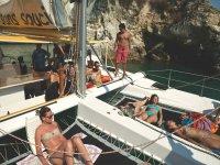 Mini-cruises on a boat