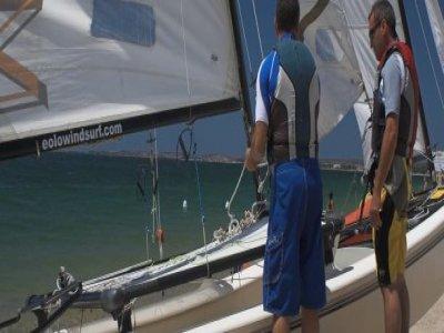 Eolo Windsurf Escursione in Barca