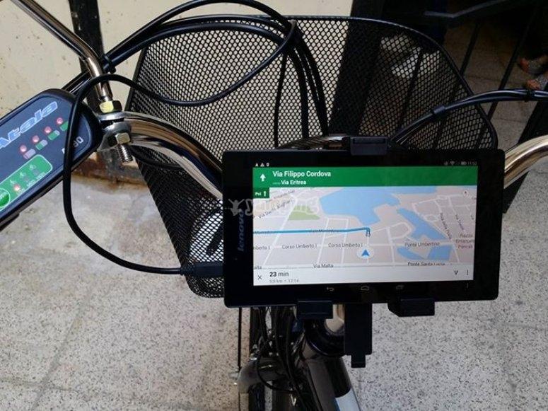 Supporto e tablet