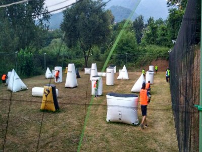 Paintball di Mattina a Salerno