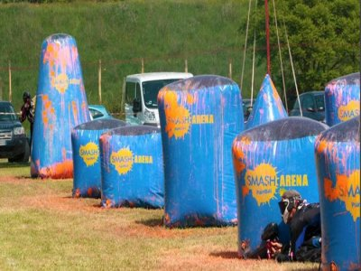 Partita di Paintball a Roma 500 colpi