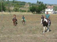 Cavalcando in provincia di Benevento