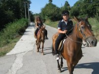 Trekking con i propri cavalli