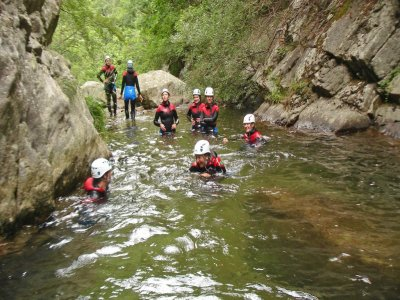 Guide Alpine Cogne Canyoning