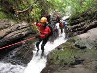 Ascent along the streams