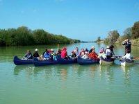 Canoa sul fiume Ombrone