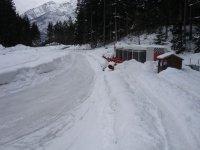 Pista sulla neve