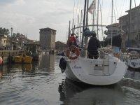 Rientro in porto a Cervia