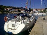 Imbarcazione Maria a Sali Croazia