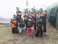 Una squadra di paintball