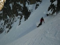 Snowboarding and mountaineering