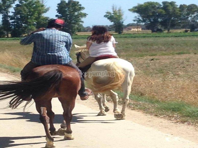 romanticismo a cavallo