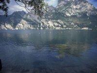Giú nel lago a Riva del Garda!