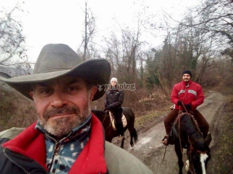 passeggiata alessandria a cavallo