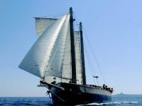 Trips by sailboat