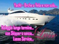 Noleggio yacht lusso