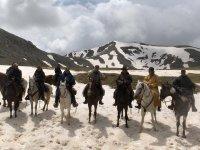 Neve e cavalli