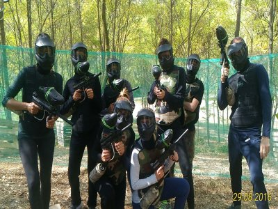 Partita di Paintball ad Alessandria