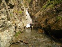 Cascata improvvisa del torrente Veri
