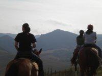 Passeggiata a cavallo di 1 ora a Volterra