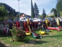 Rimessaggio kayak