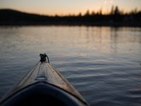 lezione di canoa