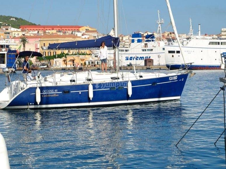 Una delle nostre imbarcazioni al porto