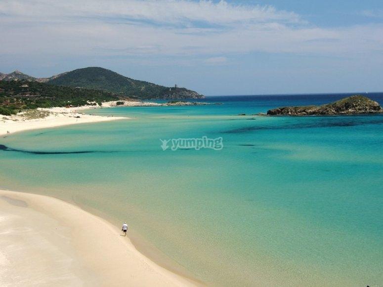 Le magnifiche spiagge dell'isola