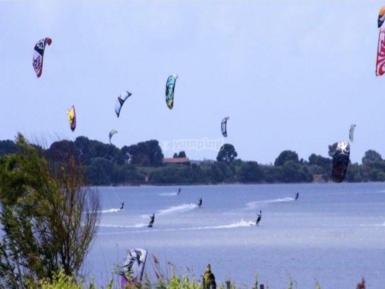 All in kitesurfing!