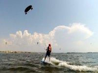 Kitesurfing in Sicily