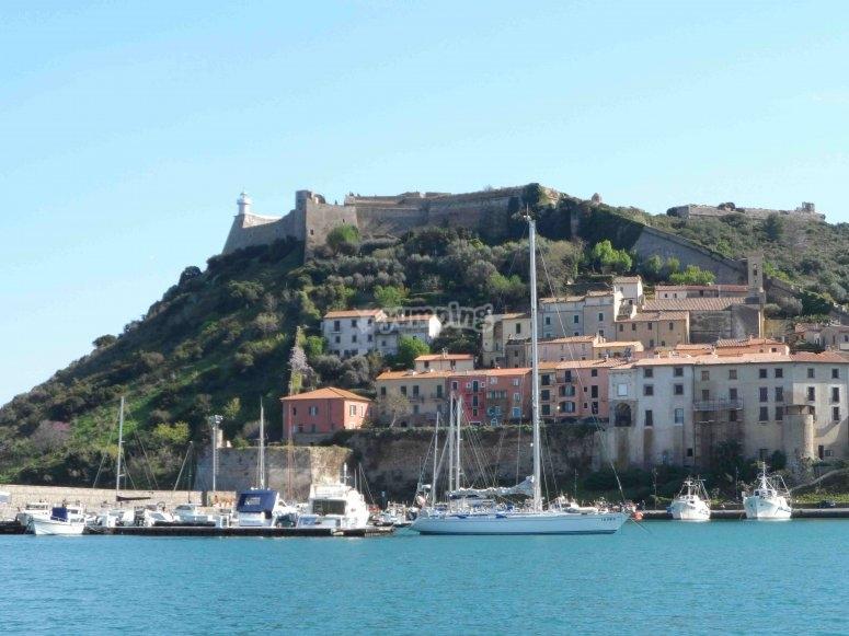 Porto turistico di Talamone