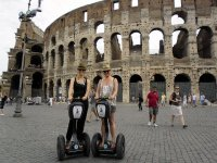 In Segway al Colosseo