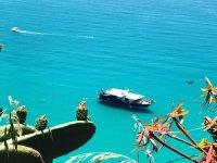 la blue ocean nella costa