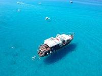 La nostra barca nella costa degli dei
