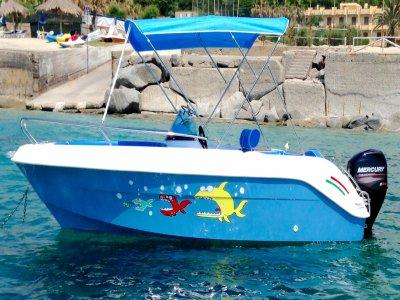 Boat rental Vibo Valentia model Marinello 18