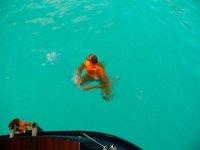 Diving a Lampedusa