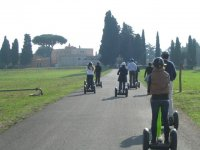 Segway nell'Appia