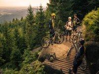 avventure in gruppo in mountain bike