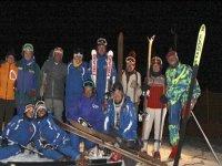 Gruppo di sciatori