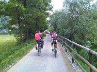 Esplorando in bicicletta