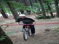 Acrobazie in mountainbike