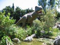 sezione Terra dei dinosauri