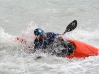 Kayak on the Dora Baltea
