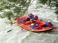 Different levels of rafting