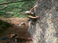Climbing in group