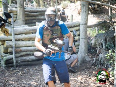Paintball with unlimited shots (2h) in Verbania