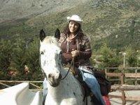 Trekking on horseback
