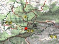 Mappa Parco Monte Moria