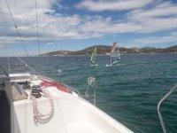 Windsurf e vela